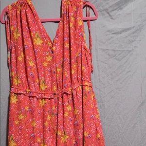 Gap Floral Maxi dress